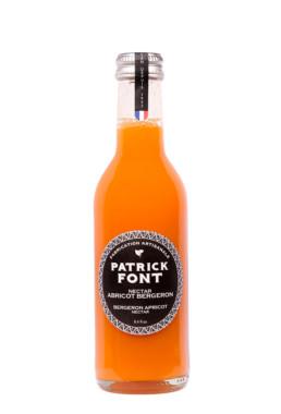 Bottle of apricot nectar