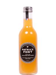 Small bottle of pineapple juice
