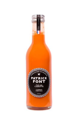 Small bottle of Carrot Juice