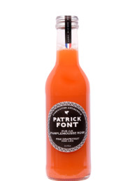 Small bottle of Grapefruit pure juice