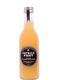 Small bottle of Tentation Apple Juice