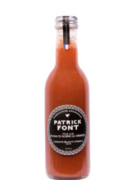 Small bottle of Black Tomato Juice