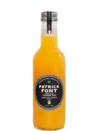 Bottle 25cl of organic apple juice