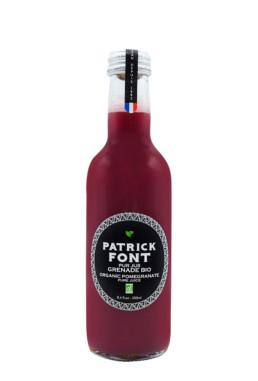 Small bottle of Pomegranate juice
